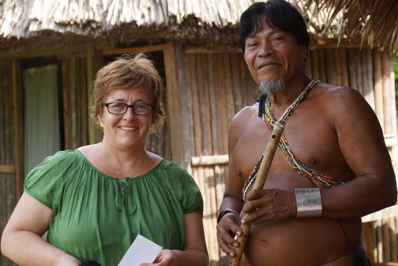 Kolumbien Panama Rundreise Embera