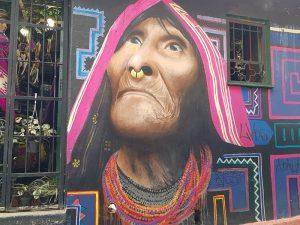 Bogotá Graffiti Kolumbien Rundreise