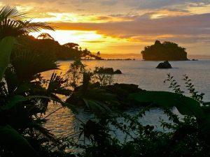 Nuqui Sonnenuntergang