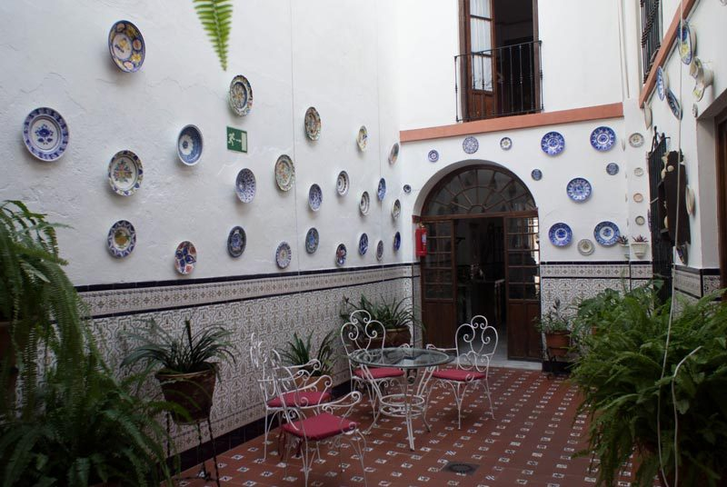 Cordoba Reise Mezquita Stadthotel Unterkunft
