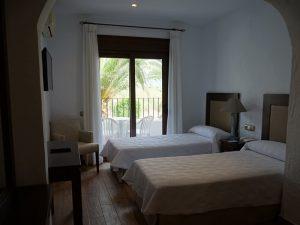Costa de la Luz Unterkunft Hotelzimmer