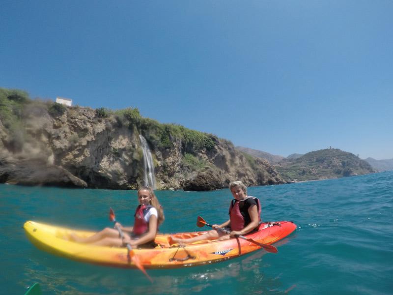 Andalusien Costa del Sol Kajak-Ausflug