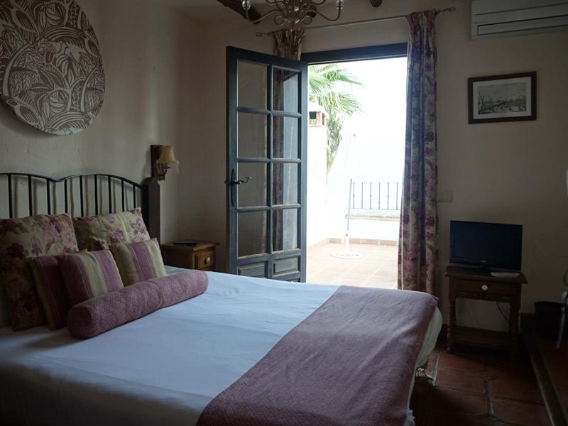 Costa del Sol Andalusien Unterkunft Doppelzimmer