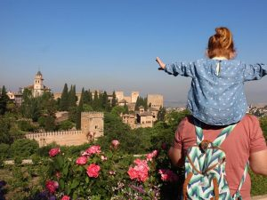 Andalusien mit Kindern Familienurlaub Alhambra