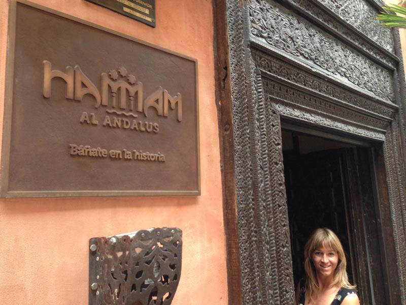 Andalusien Granada Reise arabischer Abend Hamam
