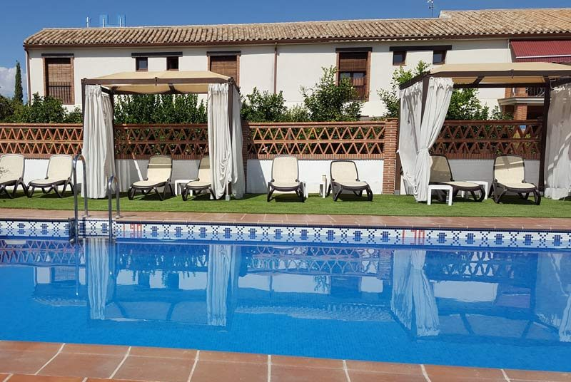 Urlaub in Andalusien Granada Unterkunft Hacienda Pool