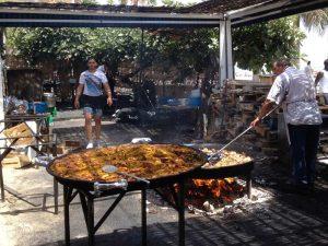 Andalusien Reisebericht Mietwagen Rundreise Paella