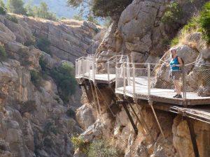 Málaga Reise Andalusien Wanderung Königsweg