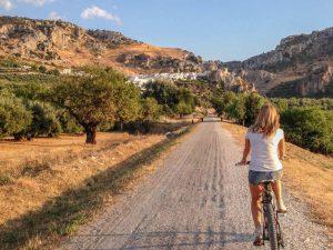 Andalusien Fahrradtour Familien mit Kindern Ausflug