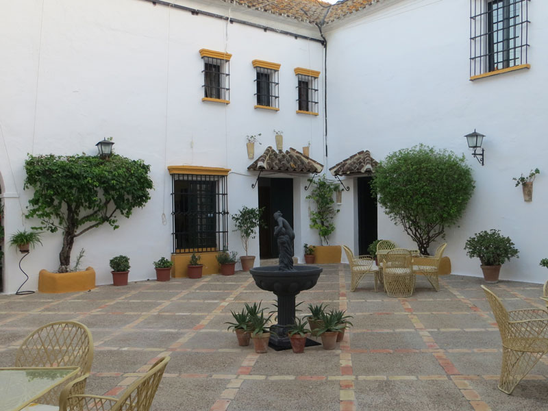 Weiße Dörfer Andalusien Unterkunft Hacienda