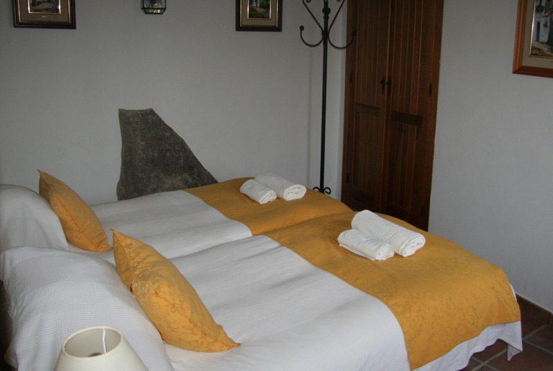Weiße Dörfer Andalusien Rundreise Montejaque Hotelzimmer