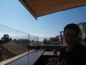 Reisebericht Andalusien Málaga Ausblick Dachterrasse