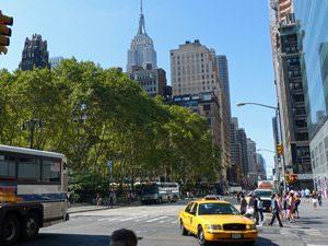 Amerika-reis-taxi