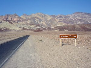 Death Valley - Artist Drive