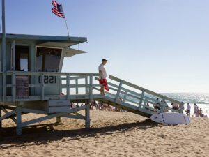 Los Angeles - Strand lifeguard