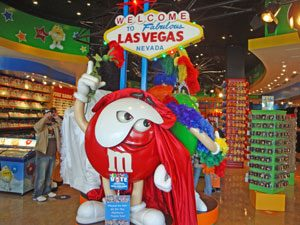 Las Vegas - M&M factory