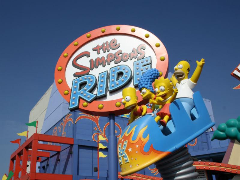 Unviersal Studios - Simpsons