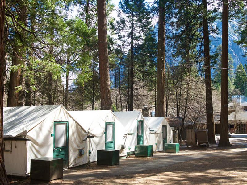 Yosemite-kamperen-tenten