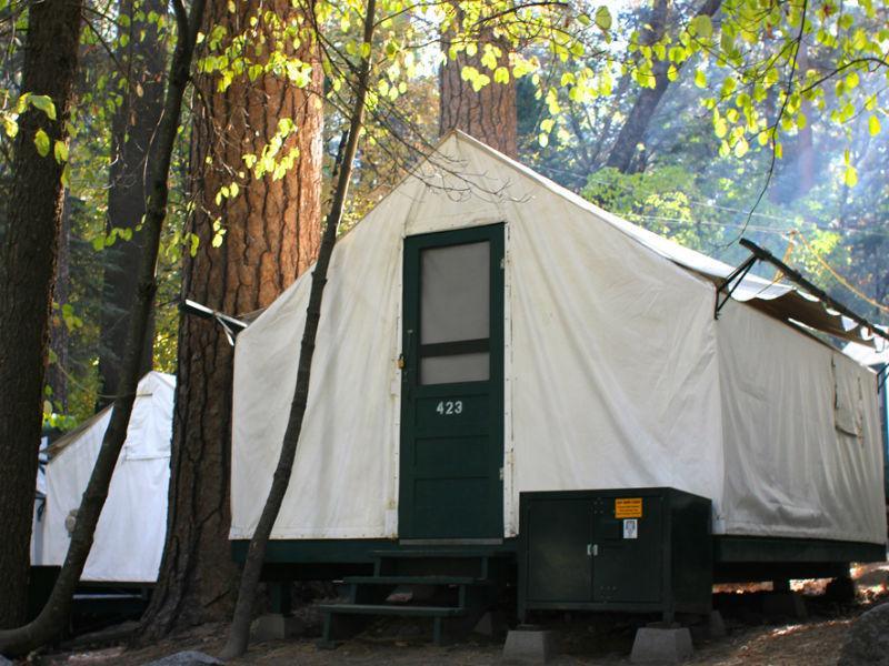 Yosemite-tent-kamperen