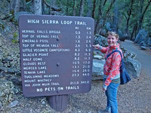 Yosemite NP - Trails