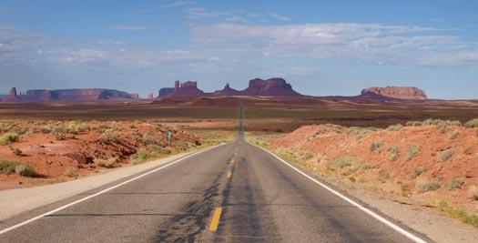 Amerika reizen Monument Valley