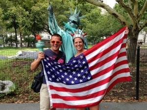 New York tijdens Amerika reis