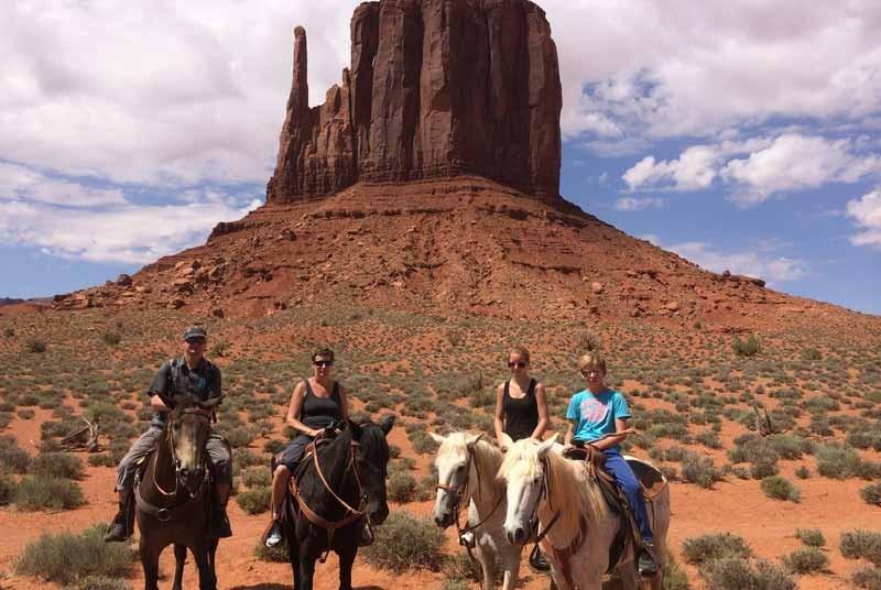 Paardrijden Amerika rondreis