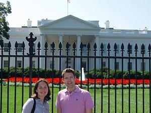 Bezoek het witte huis Washington