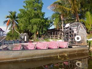 Everglades airboattour - reis Florida