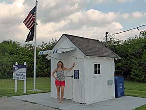 Everglades postkantoor - Florida reis
