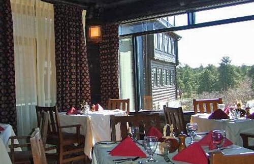 El Tovar restaurant - uitzicht