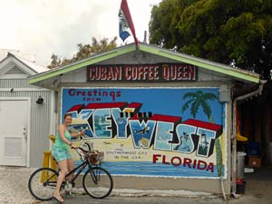 Fietsen door Key West - reis Florida