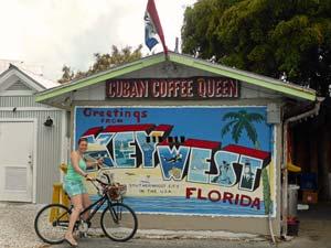 Fietsen door Key West - reis Florida