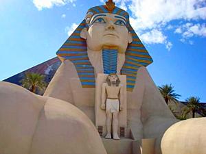 Overnachten Las Vegas in een piramide