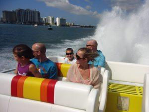 Speedboattrip tijdens je Miami reis