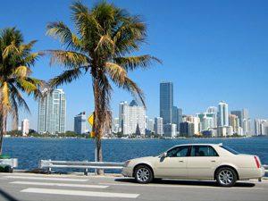 Uitzicht op Miami - Florida reis