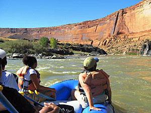 West Amerika reis - raften