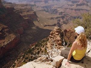 De diepte in kijken: Grand Canyon