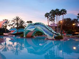Special stay: zwembad Disney hotel