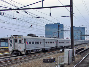 Vervoer Amerika per trein