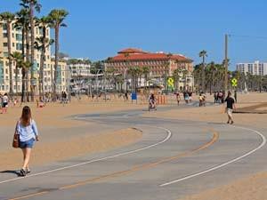 Santa Monica West Amerika reis