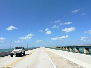 Reizen Key West - Highway 1