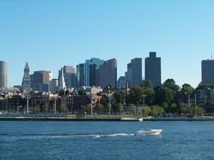 Boston vanaf het water