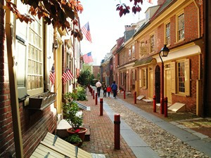 Philadelphia straatbeeld