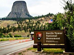 Van Devils Tower naar Westernstad