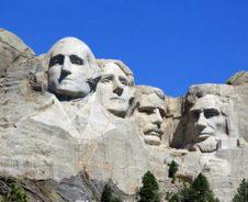 Op zoek naar presidenten en bizons