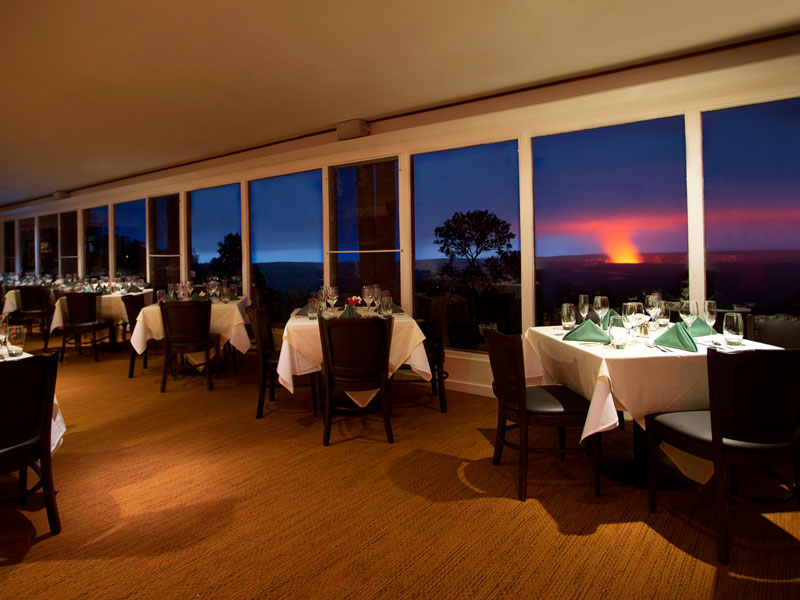 Volcanoes NP Special Stay restaurant