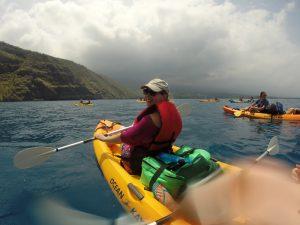 Hawaii eilanden - kajakken