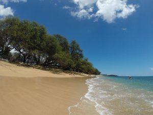 Hawaii Maui Kanapaali strand