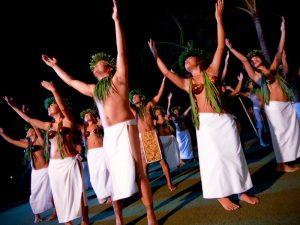 Hawaii Maui luau hula